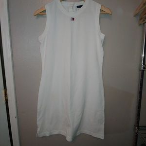 Retro Tommy Hilfiger Sleeveless Tank Polo Dress M